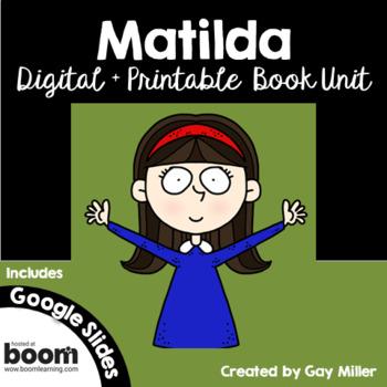 Matilda [Roald Dahl] Book Unit