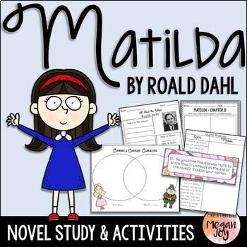 Matilda By Roald Dahl Novel Study