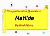Matilda written by Roald Dahl
