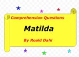 Matilda written by Roald Dahl
