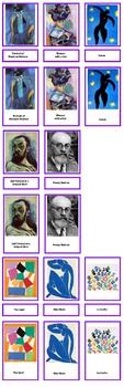 Matisse 3 Part Cards