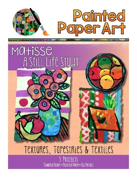 Art History Lessons: Matisse- A Still Life Study: Tapestries and Textiles