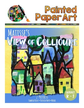 Art History Lessons: Matisse Trees and Mixed Media Mural