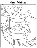 Matisse Coloring page