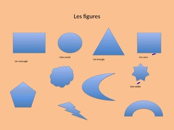 Matisse Cut-Outs Teaching French Shapes and Colors