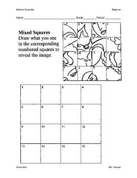 Matisse Grid Draw