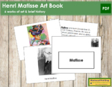 Matisse (Henri) Art Book