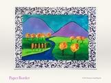 Fall Art Lesson - Henri Matisse Inspired Landscape (Acryli