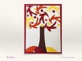 Fall Art Lesson - Henri Matisse Inspired Tree (Paper Collage)