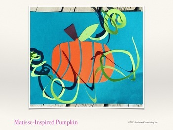 Matisse Inspired Pumpkin - Paper Craft Lesson