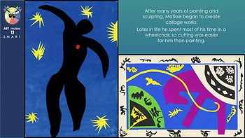 "Matisse ""Painting with Scissors"" Frontload Powerpoint"