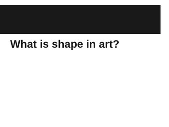 Matisse Shapes