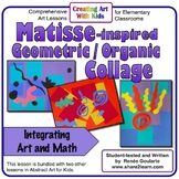 Art Lesson Matisse-inspired Geometric Organic Collage
