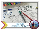 Matrices Coloring Activity