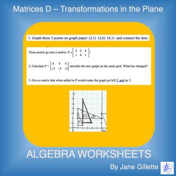 Matrices D