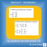 Matrices F - Multiplication