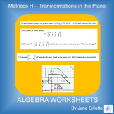 Matrices H - Transformations in the Plane