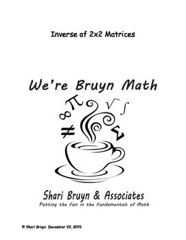 Matrices - Inverses of 2x2