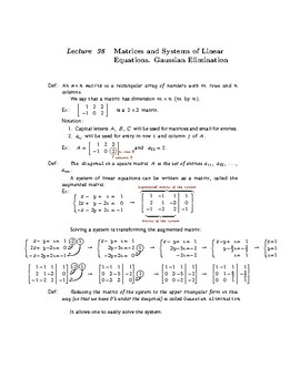 College Algebra: Lecture Notes (SECOND EDITION)—Lecture 38—Preview