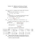 College Algebra: Lecture Notes (SECOND EDITION)—Lecture 38