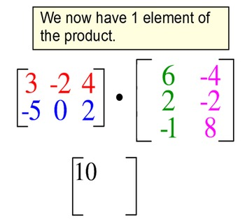 Matrix Add, Subtract & Multiply 4 Introductions + 5 Assignments for SMART