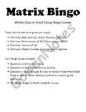 Matrix Bingo