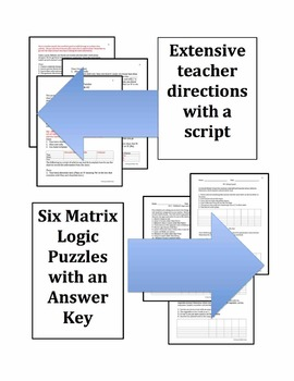 Matrix Logic Puzzles – Package #2