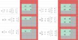 Matrix Multiplication - Google Classroom - Conditional Format