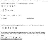 Matrix Operations Addition, Subtraction, Scalar Multiplication Variables