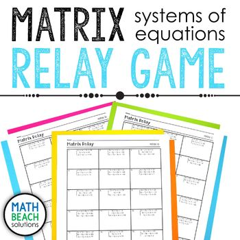 Matrix Relay Activity
