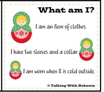 Describing with Attributes for Speech Therapy