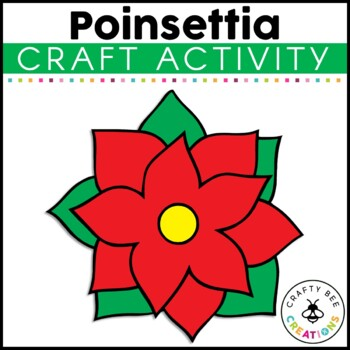 Poinsettia Cut and Paste