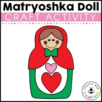 Matryoshka Doll Cut and Paste