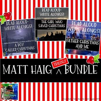 Matt Haig Trilogy Bundle of Read Aloud Write Alongs