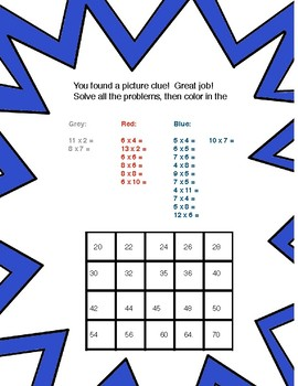 Mattematician Episode 3: A Multiplication Math Mystery Project