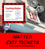 Matter Exit Tickets