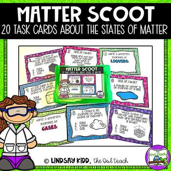 States of Matter Unit - Matter Task Cards