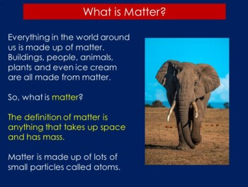 FREE States of Matter PowerPoint