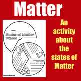 States of Matter   1st 2nd 3rd 4th 5th Grade   Craft Activity Graphic Organizer