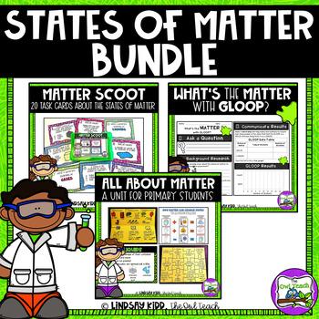 States of Matter Unit - Matter Unit and Activities BUNDLE
