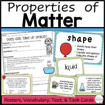 Properties of Matter Activities