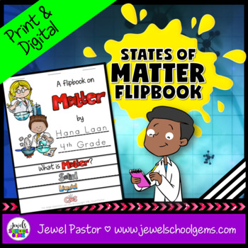 States of Matter Activities (States of Matter Flipbook)