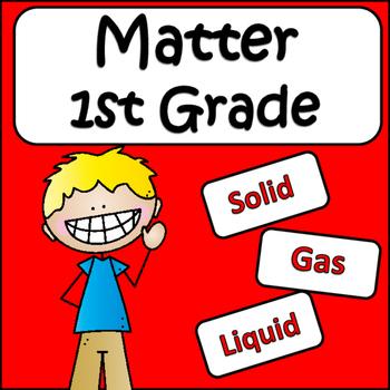 First Grade Science: Matter