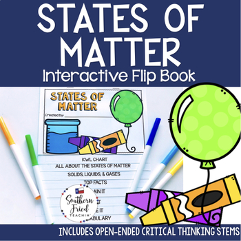 States of Matter Interactive Flip Book