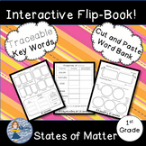 Matter: 4 Page Interactive Science Flip Book