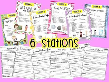 Matter (6 Engaging & Fun Stations!)