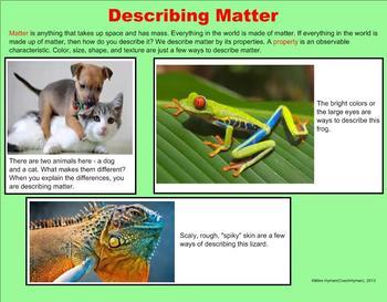 Matter - A Third Grade PowerPoint Introduction