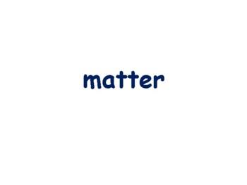 Matter: Atoms/Elements/Compounds/Molecules Flashcards exam prep 2018 2019