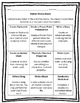 Matter Board (9 Activities) Rubrics Included!