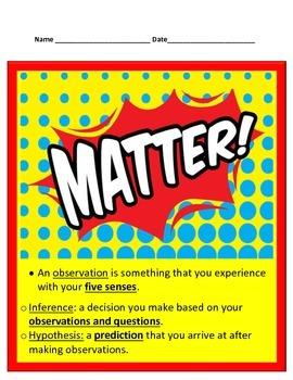 Matter Bundle- 5th Science